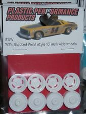 PPP SW NASCAR 1/25 70s 10' SLOTTED NASCAR WHEELS SET STOCK MODEL CAR MOUNTAIN