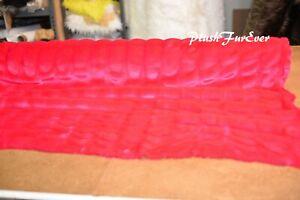 Chinchilla Tissavel Red Throw Comforters Blankets 4 x 5 Softest Mink