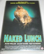 UFA Video 3973 - Naked Lunch - VHS/Horror/Peter Weller/Julian Sands/Roy Scheider