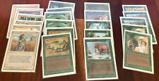 Magic The Gathering: Unlimited lot - 56 cards