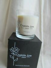 Charlotte June London Hand Poured Soy Wax Candle Winter Spice Glass Jar Vegan