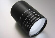 Makro Set 52mm passend zu Canon G7 & G9 Nahlinsen + Filteradapter