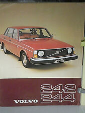 PROSPECTUS VOLVO 242/244   1977