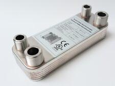 Edelstal Plattenwärmetauscher B3-12-12 Wärmetauscher bis 25KW Solar Heizung pöl