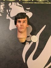 POPTOYS British Detective Sherlock Head Sculpt loose 1/6th scale