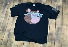 New listing Xl * Kanye West takashi murakami glow in the dark tour t shirt * rap vtg