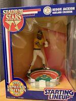 1994 Oakland Athletics Reggie Jackson Starting Lineup Stadium Stars NIB HOF
