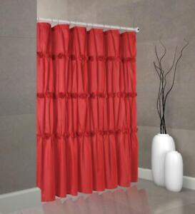 Rose Garden Toile Bathroom fabric  Shower Curtain…
