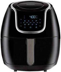 PowerXL Air Fryer Vortex - Multi Cooker Non Stick Coated Basket, w/Cookbook 7 QT