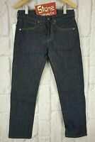 Levis Made & Crafted Raw Rigid Straight Slim 13oz Jeans Zip Fly W32 L33 £195