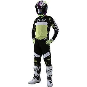 Troy Lee Designs Gear Combo Set TLD MX Motocross SE PRO Pants Jersey GLO GREEN