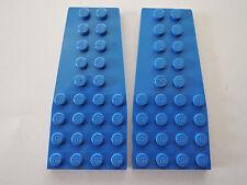 Lego 2 x plancha de alas 2413 azul 4x9 3451 7186 6495 4055