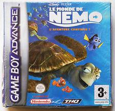 LE MONDE DE NEMO (NEW SEALED) sur Nintendo GAME BOY ADVANCE GBA