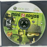 Mini Ninjas (Microsoft Xbox 360) *GAME DISC ONLY - CLEANED & TESTED*