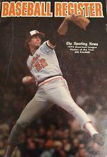 1976 Sporting News Baseball Register -Jim Palmer VG+/EX