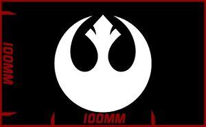 Star wars Rebel Alliance logo decal vinyl sticker choose your colour