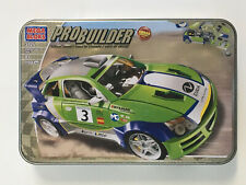 Mega Bloks ProBuilder Pursuit Mk7 SRA Race Car Green Building Blocks 3725 New