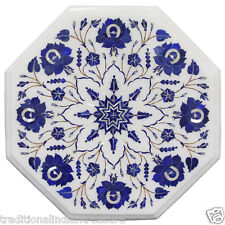 Marble Coffee Table Top Lapis Lazuli Marquetry Inlay Giving Tuesday 2017 Special