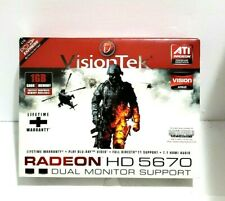 VisionTek Radeon HD 5670 1GB Dual Monitor Support Premium Graphics