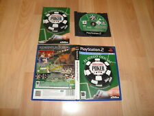 WORLD SERIES OF POKER DE ACTIVISION PARA SONY PLAY STATION 2 PS2 EN BUEN ESTADO