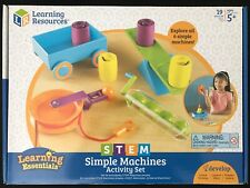 Learning Resources Simple Machines Activity Set Ages 5+ New Toy