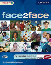 face2face Pre-intermediate Student's Book with CD-ROM/Audio CD EMPIK Polish edit