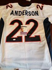 C. J. Anderson Signed Broncos Jersey (JSA COA) - XL Size
