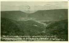 New Creek,WV. The Devil's Saddle, Mikes Gap & New Creek Mountain  RPPC  1934