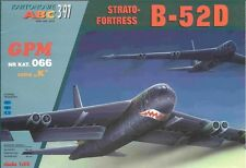 B-52 D Strato Fortress huge paper card model 170cm wingspan 1:33 scale