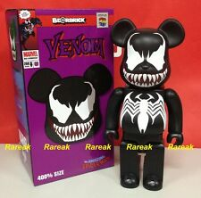 Medicom Be@rbrick 2014 Marvel Spiderman 400% Black Venom Spider man Bearbrick 1P