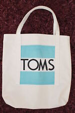 Do you LOVE Toms Shoes? UNIQUE TOMS Reusable Tote Bag, Handmade with TOMS Flag
