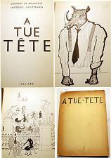 A TUE TETE/L DE BRUNHOFF/J.LANZMANN/ED JULLIARD/1957/EO/BABAR/RARE