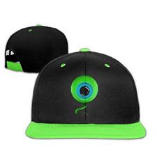 Jacksepticeye Kids Boys/Girls Hip Hop Hats Baseball Caps KellyGreen