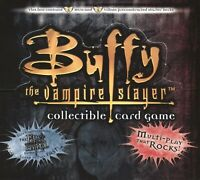 Buffy The Vampire Slayer Pergamum Prophecy CCG Starter Deck Card Box