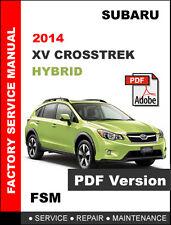 Subaru crosstrek manuals 2016 crosstrek owner's manual.