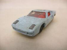 X-16261Siku V296 Ford GT40, mit Gebrauchsspuren, Farbschäden, Federung defekt