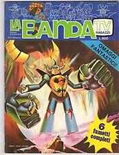 fumetto LA BANDA EDIZIONI EDIERRE ANNO 1980 NUMERO 20