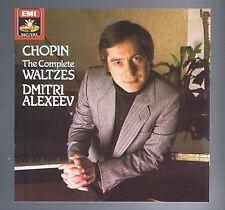 CHOPIN CD WALTZES/ DIMITRI ALEXEEV