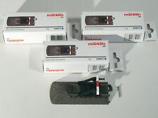 Märklin H0 24977, 3 x Gleisende mit Prellbock, C - Gleis, neu, OVP