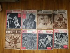 LE MIROIR DES SPORTS fort lot de 22 exemplaires ANNEE 1960