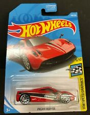 Hot Weels PAGANI HUAYRA 2007 Red 148/250 HW SPEED Graphi 5/10 Die-Cast 1:64 NEW