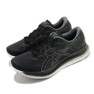 Asics GlideRide Grey Black White Men Running Shoes Sneakers Trainer 1011A817-020