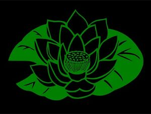 Lotus Flower Of Life Decal Style 2 vinyl car window sticker