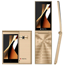 NEW Unlocked FREETEL MUSASHI  FTJ161A Champagne Gold Japanese Smartphone