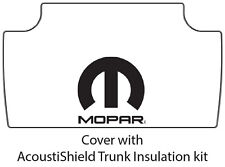 1965 1967 Dodge Plymouth Car Trunk Rubber Floor Mat Cover with M-006 MOPAR