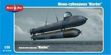 Mikro-Mir - 35-002 - German mini-submarine 'Marder' - 1:35