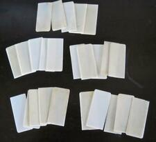 """25 Simulated Ivory Piano Kets 7/8"""" X 1 7/8"""""""