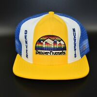 Denver Nuggets AJD Lucky Stripes NBA Vintage 80's Adjustable Snapback Cap Hat