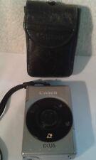 Vintage CANON IXUS Compact Digital Camera in original leather case.