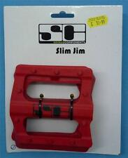 "Savage Components Slim Jim Pedal Body only - Red - 9/16"" - RRP £10.99 - NEW"